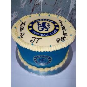 Chelsea logo cake