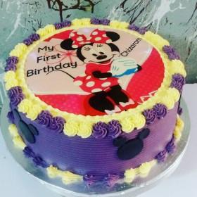 Minnie purple