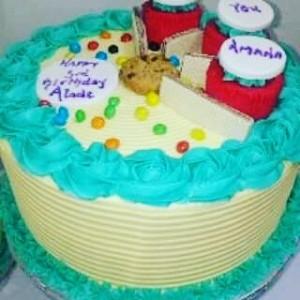 Basic celebration cake 04