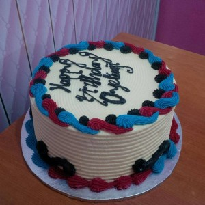 Basic celebration cake 05