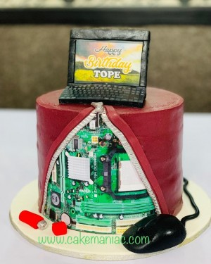 Customer service week cake